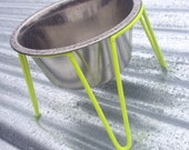 Hairpin Steel Wire Diner 1-QT in Neon Yellow