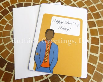 Happy Birthday Hubby - Husband and Boyfriend Birthday Card for Him