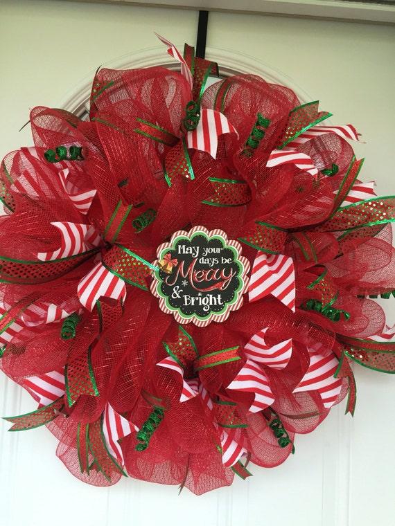 Items similar to Christmas wreath sale, Christmas wreath ...