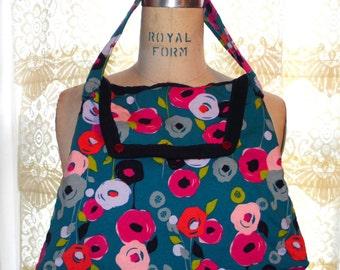 Floral Fabric, Upcycled Handbag/Purse