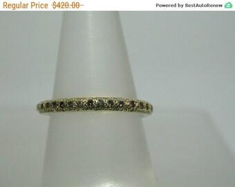 SALE Diamonds gold ring ,Engagment diamonds ring ,Yellow gold ring ,Women wedding band ,Stacking ring ,Women ring