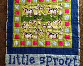 Quilted Crib Quilt