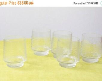 WAKEUP Vintage Set of East German Glasses