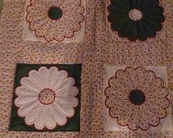 Dresdan plate quilt