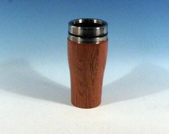 Jatoba Wooden Travel Mug With Stainless Steal Interior