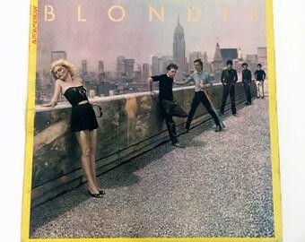 Vintage Blondie  AutoAmerican LP Record Vinyl Album Vg+ Auto American