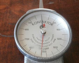 West Germany Kontaktor Tension Meter
