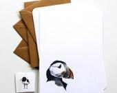 Seaside Birds Letter Writing Set - Illustrated Writing Paper