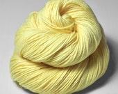 Freshly squeezed lemons - Merino Sport Yarn Machine Washable - Hand Dyed Yarn - handgefärbte Wolle  - Garn handgefärbt - DyeForYarn