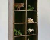 Vintage Wall wood Shelf, Kitchen Shelf, Knick Knack Shelf
