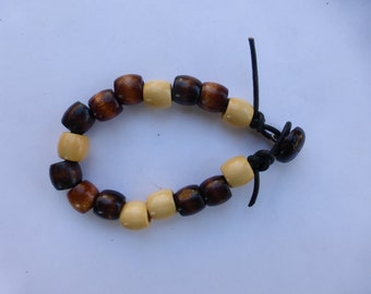 Men's WOODEN Beads Bracelet