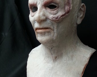 Darth Vader inspired silicone mask