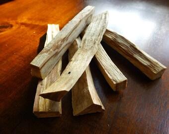 Palo Santo wood, 4 PK, Holy wood, palo santo incense, smudge stick, natural incense, palo santo bundle, meditation, house blessing
