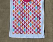 Towel Bib Triangle XL toddler bib