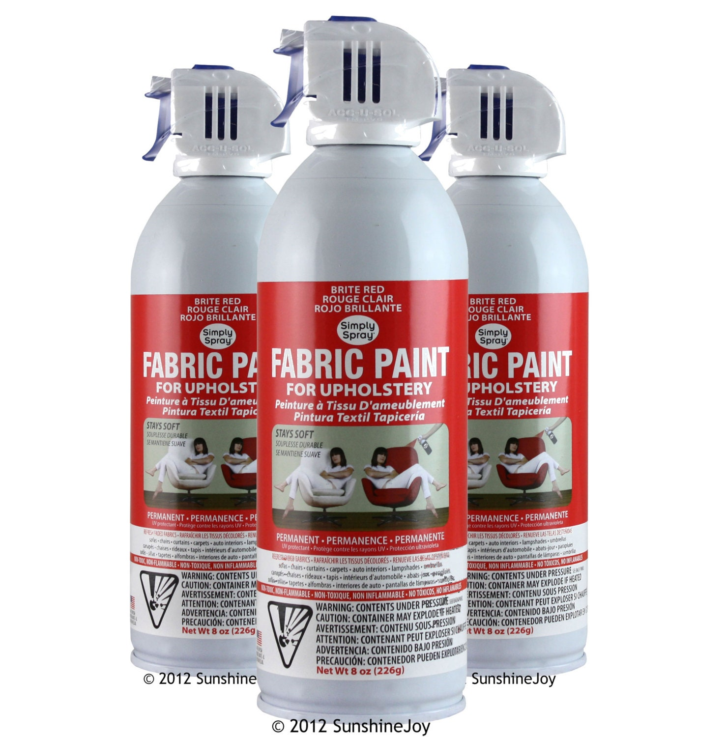 Where To Buy Upholstery Fabric Spray Paint Upholstery Fabric Spray Paint 6 Pack Burgundy Simply