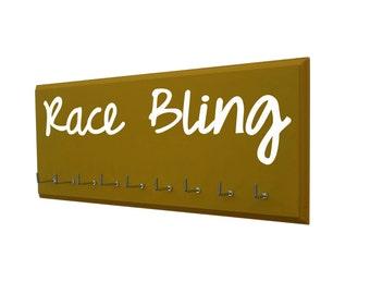 Race bling - running medal holder - running bling - runners gift - runners medal holder - runners medal rack - runners medal display