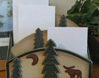 Moose Mail/Letter Holder