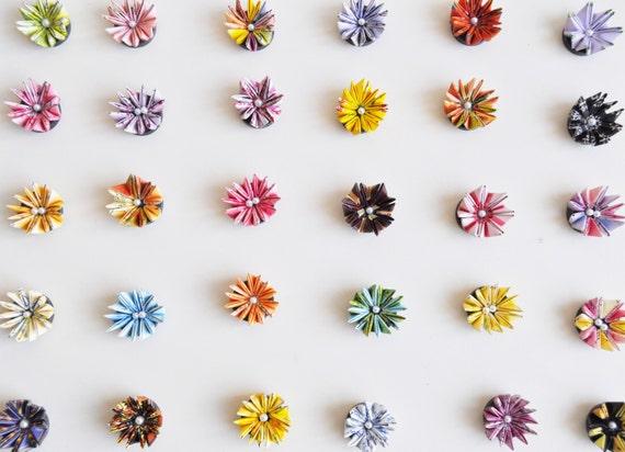 Set Of 25 Fridge Magnets / Refrigerator Magnet / Gifts For Guests / Favours Ideas / Wedding Favor / Wedding Origami / Unique Favor