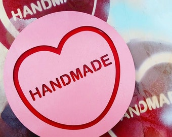 SALE! HANDMADE Candy Love Heart Wall Hanging.