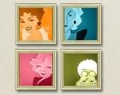 Golden Girls Inspired Art - Choose individual prints or as a set