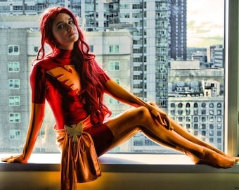 Dark Phoenix from Marvel Comics X-Men Cosplay Print