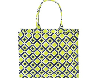 time square canvas tote  - in 3 great colors