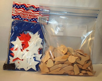 Craft Supplies Wood Cut Outs Foam Cut Outs Stars Photo Kit Assorted Shapes