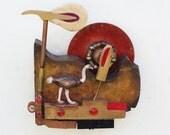 Piano Hammer Landscape - Ostrich - Scott Rolfe