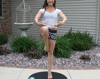 Custom Dance Turning Platform / Board with Canvas Bag --- By BELLE VIRAGE