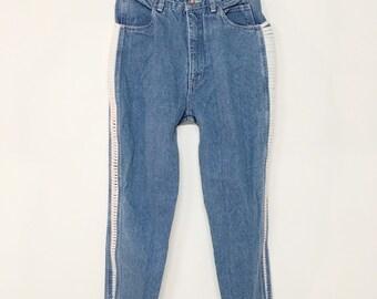 Vintage skinny jeans | Etsy