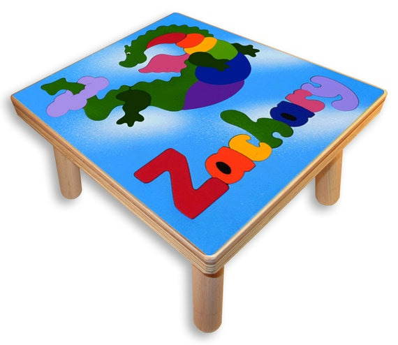 Name Puzzle Stool Flying Dragon