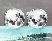 Moon Cufflinks, stargazer cufflinks, Space cufflinks, gifts for stargazers, star gazer cufflinks, Lunar cufflinks, Astral cufflinks