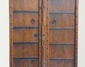 Wine Cellar Door Teak Raj Style Old Door Shipping Included in the U.S.