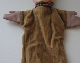 French hand carved puppet
