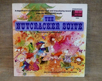 Walt Disney'S - The Nutcracker Suite - 1970 Vintage Gatefold Record Album...Includes Insert Booklet