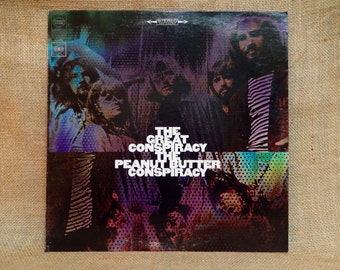 The PEANUT BUTTER CONSPIRACY - The Great Conspiracy - 1968 Vintage Vinyl 2 lp Record Album