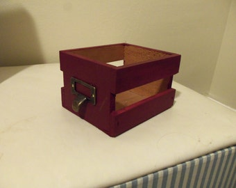 Tiny Red Crate