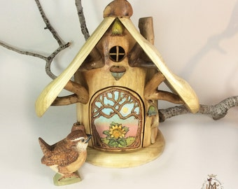 Willodel Big Gnome Home with Furnishings