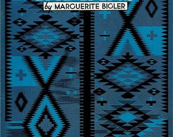 1950 Little Wonder Book No. 310 - Navajo Indians by Marguerite Bigler Paperback Children's Book