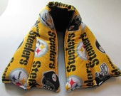 Hot/ Cold Herbal Therapy Neck, Knee and Ankle Wrap Steelers Football Black & Gold