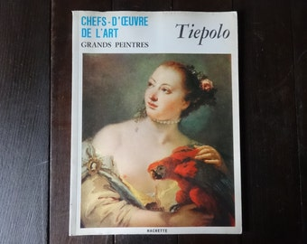 Vintage French Large Paperback Art Reference Magazines Painter Tiepolo Chefs-D'Oeuvre De L'Art Grand Peintres circa 1968 / English Shop