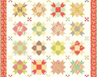 Star Crossed Quilt Kit designed by Joanna Figueroa of Fig Tree Quilts