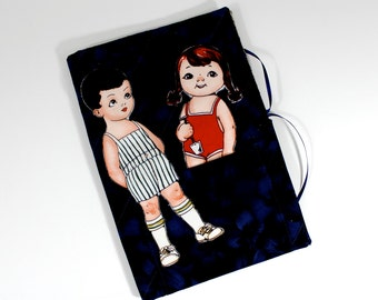 Boy Girl Cloth Paper Dolls Soft Book Travel Toy Classic Children's Toys