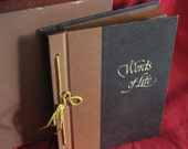 Words of Life, A Religious and Inspirational Album Containing 1100 Quotations from the Minds & Hearts of Writers, in the original box