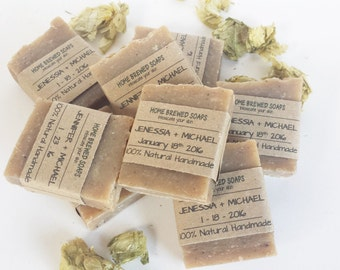 Wedding Favors - Wedding Gift - Personalized Wedding - Wedding Soap - Rustic Wedding Favors - Soap Wedding Favors - Handmade Soap Favors