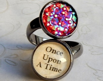 Once Upon A Time Ring, Once Upon A Time Jewelry, OUAT Ring, Fairy Tale Ring