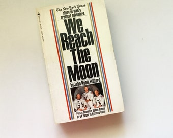 We Reach The MOON // Paperback 1969