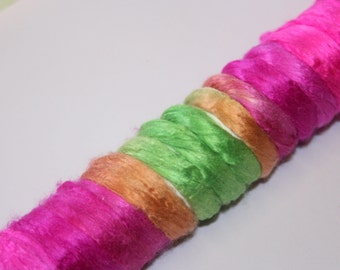 Mulberry Silk Roving (Top) 15 gms