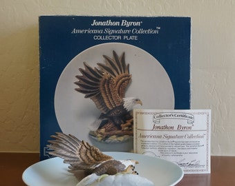 Jonathon Byron 3D Flying Eagle Plate