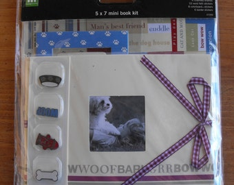 Dog 5 x 7 Mini Book Kit by Making Memories
